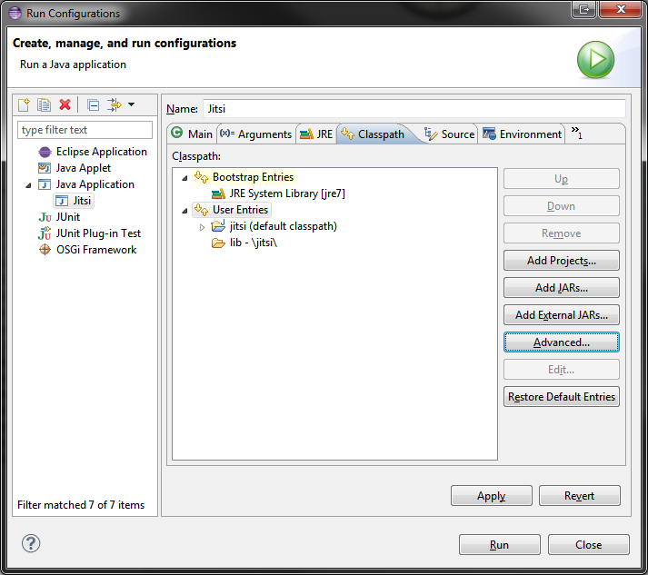 Configure Eclipse New | Jitsi