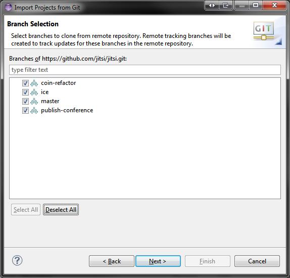 Configure Eclipse New | Jitsi